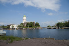 Vyborg castle Royalty Free Stock Images
