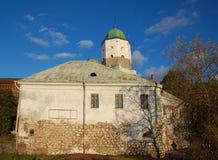 Vyborg castle in Vyborg city Stock Photos