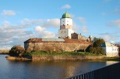 Vyborg castle in Vyborg city Stock Images