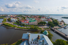 Vyborg city Royalty Free Stock Photography