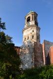 Vyborg clock tower Stock Photo