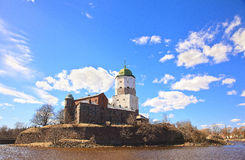 Vyborg fortress Stock Photography