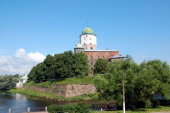 Vyborg Fortress. One of the oldest fortress in Russia Royalty Free Stock Image