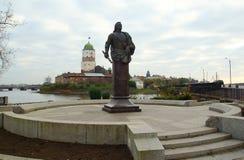 Vyborg Kasztel Obrazy Royalty Free