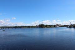 Vyborg Panorama Royalty-vrije Stock Afbeeldingen