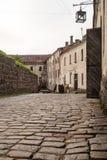 Vyborg, Rússia, em agosto de 2016: Castelo histórico e arquitetónico da Museu-reserva imagem de stock