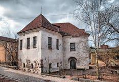 Vyborg Rosja Kopyto_szewski St Hyacinthus kościół Zdjęcie Royalty Free