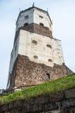 Vyborg, Rusland, Augustus 2016: Historisch en Architecturaal museum-Reserve Kasteel Stock Foto's