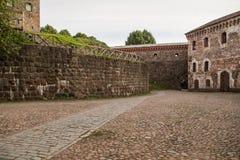 Vyborg, Rusland, Augustus 2016: Historisch en Architecturaal museum-Reserve Kasteel Stock Afbeeldingen