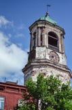VYBORG, RUSLAND: het Middeleeuwse oude kasteel in 15 Juni, 2015, LENINGRAD OBLAST, Rusland Royalty-vrije Stock Fotografie