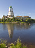 Vyborg, Russia, castle Royalty Free Stock Image