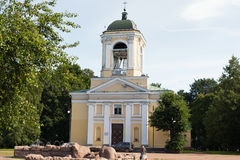 Vyborg, Russia - July 20, 2016: Cathedral of Saints Peter and Pa Stock Photography