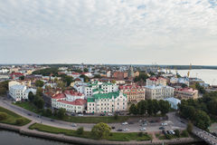 Vyborg, Russland Stockfoto