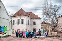 Vyborg Ryssland Den sista kyrkan av St Hyacinthus Royaltyfria Bilder
