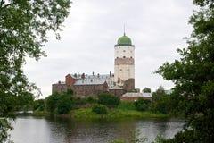 Vyborg Schloss Stockbild