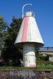 Vyborg, segno della stoffa per tendine Immagini Stock Libere da Diritti