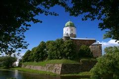 Vyborg slott Royaltyfri Fotografi