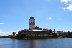 Vyborg slott Arkivfoton