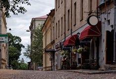 Vyborg slott Arkivfoto