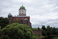 Vyborg slott Fotografering för Bildbyråer