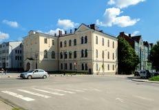 Vyborg street Royalty Free Stock Photography