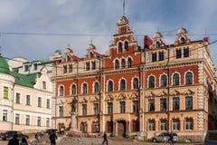 Vyborg Town Hall. The old Vyborg town hall Stock Image