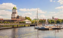 Vyborg Stock Photo