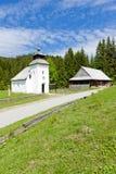 Vychylovka, Slowakije stock foto's