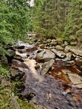 Vydra river Royalty Free Stock Images