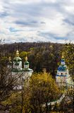 Vydubitskiyklooster in Kyiv, de Oekraïne Royalty-vrije Stock Afbeelding