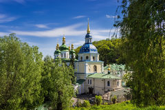 Vydubitsky monastery Stock Photos