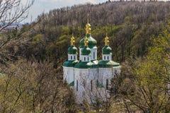 Vydubitsky monastery Stock Photos