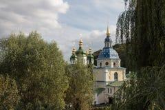 Vydubychi修道院 库存照片