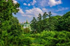Vydubychi-Kloster Stockbilder