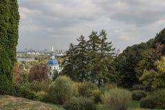Vydubychi kloster arkivbilder