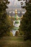 Vydubychi monaster w Kijów Zdjęcia Royalty Free