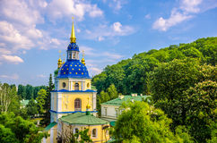 Vydubychi monastery Stock Photos