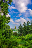 Vydubychi monastery Royalty Free Stock Photos