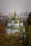 Vydubychi Monastery in Kiev Royalty Free Stock Photography