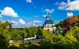 Vydubychiklooster, Kiev Royalty-vrije Stock Fotografie