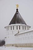 Vyisotsky Kloster, Serpukhov Lizenzfreies Stockfoto