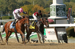 Vyjack Wins The Kelso Stakes Royalty Free Stock Photography