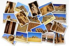 Vykort från Egypten Arkivbilder