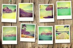 Vykort från Polynesien Royaltyfria Bilder