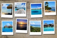Vykort från Polynesya Arkivbild
