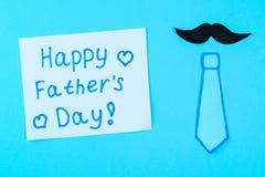 Vykort på temat av dagen för fader` s Juni 17 Arkivbilder