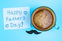 Vykort på temat av dagen för fader` s Juni 17 Royaltyfria Bilder