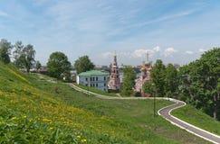 Vykort till Nizhny Novgorod Ryssland Royaltyfria Bilder
