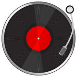 Vynil plate. To see more please visit my gallery vector illustration