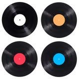 Vynil-Vinylaufzeichnungs-Spielmusikweinlese Stockfotografie